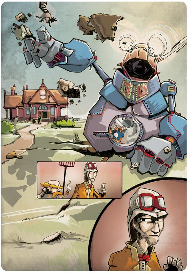 Professor Elemental Comics pg. 5