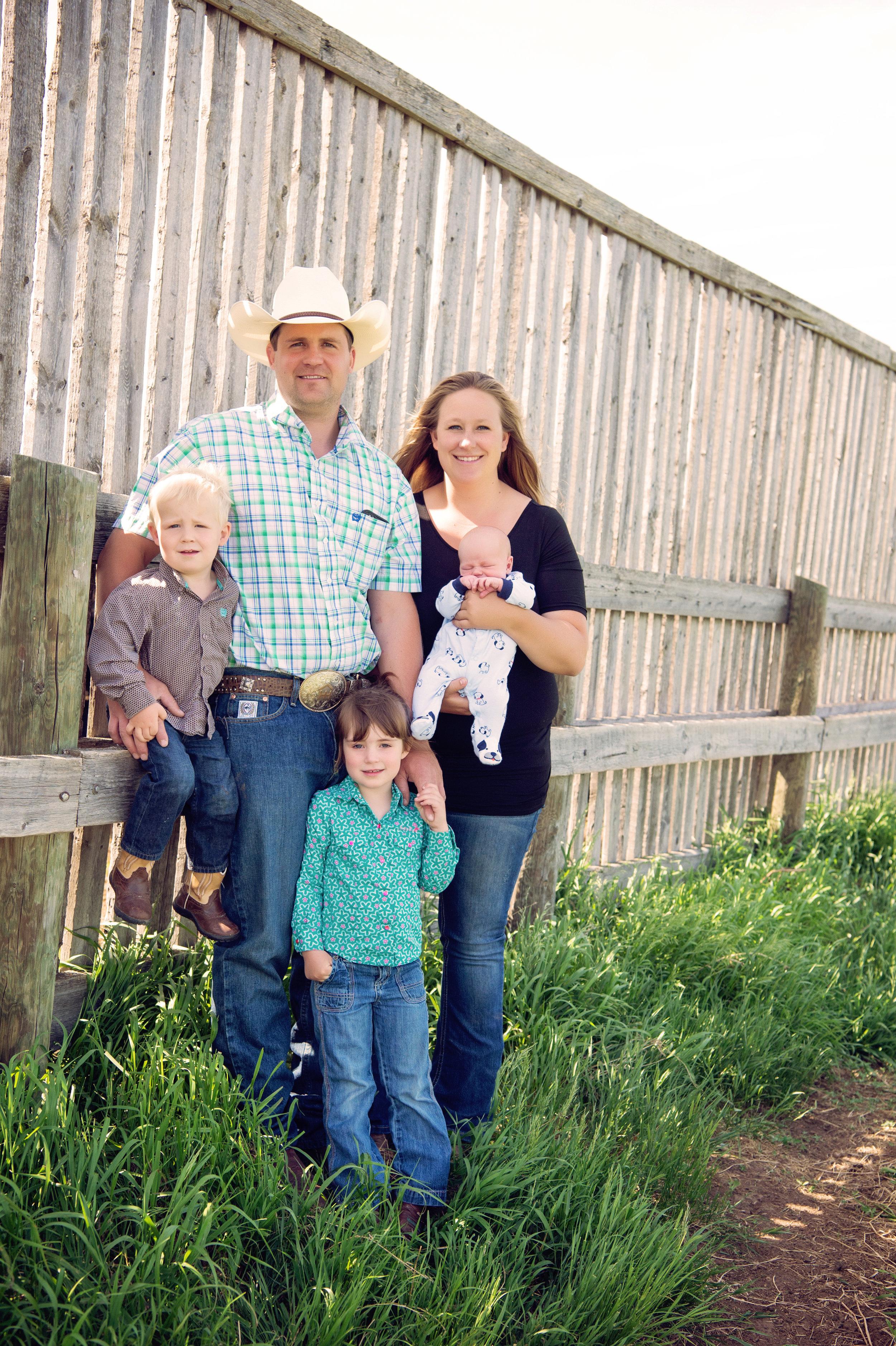 Evan and Tonay Hegedys Family