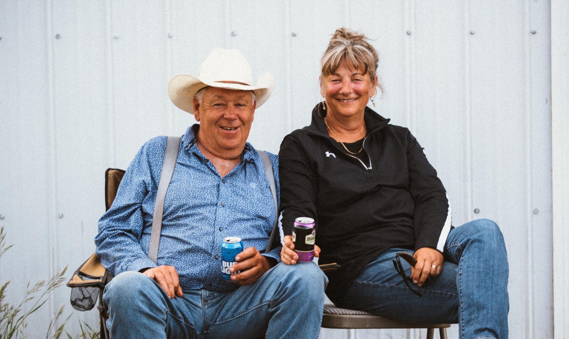 Doug and Helga Price