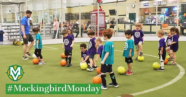 Summer Youth Soccer sessions are right around the corner! Click on the link in our bio for more info #MockingbirdMonday