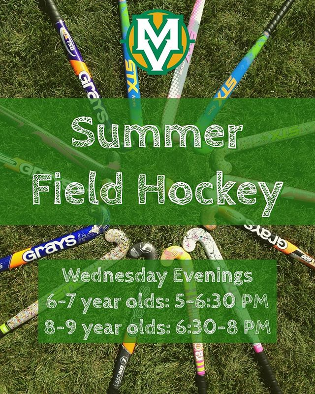 Who's ready for some summer field hockey?  Registration is open so click the link in our bio to sign-up now! #MockingbirdMonday