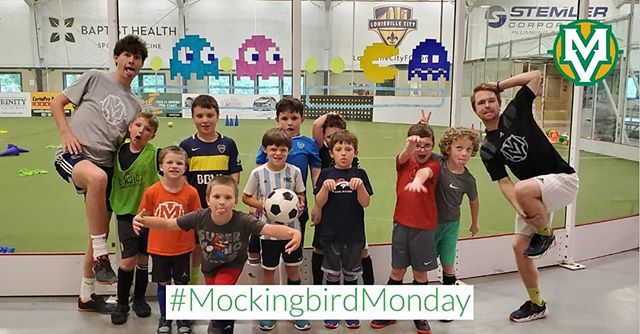 Another week of soccer camp fun is underway at MVSC! This week is Video Game week and it's sure to be a blast!! #MockingbirdMonday