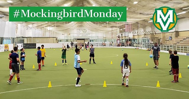 Challenger Sports, the leading soccer camp company in North America, is underway at MVSC this week and our campers are already having a blast! #MockingbirdMonday