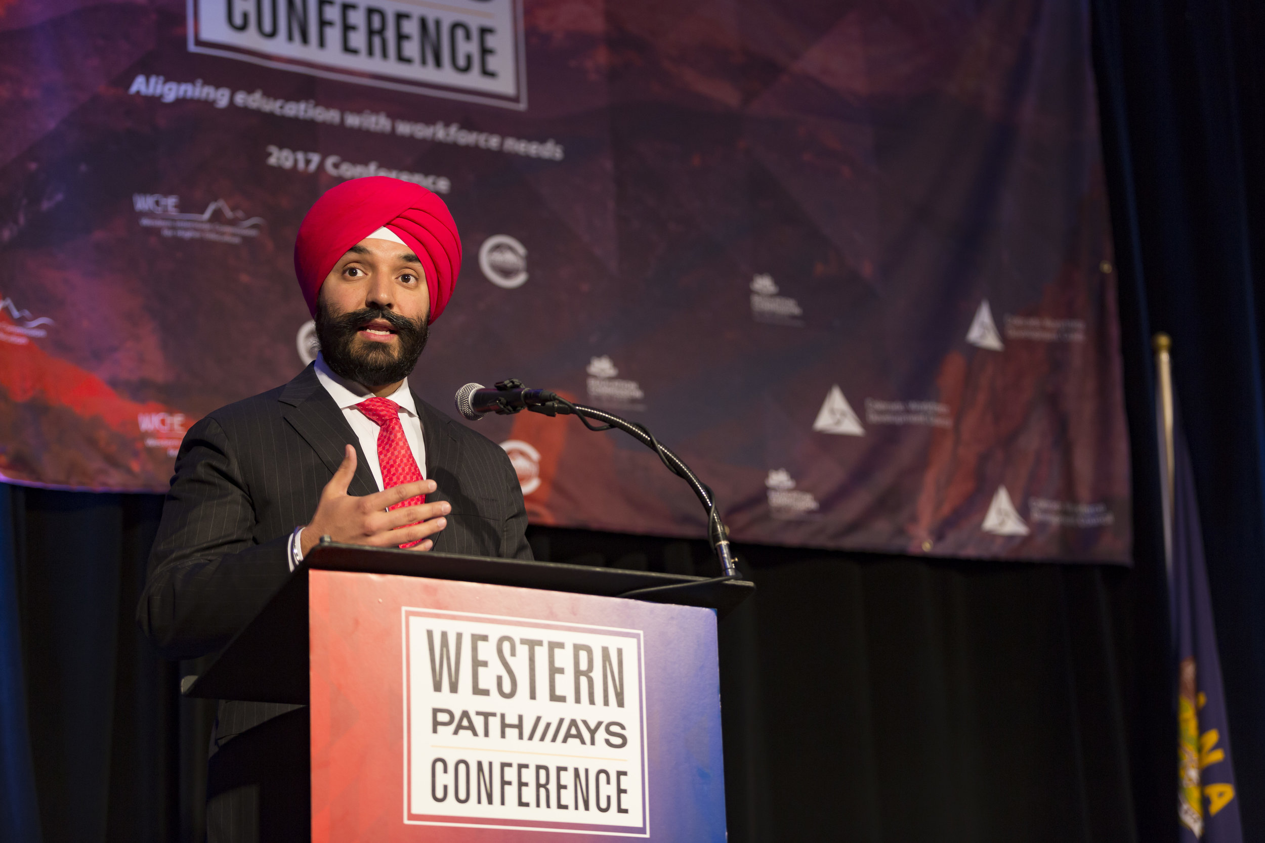 Honorable Navdeep Bains, Minister of Innovation, Science and Economic Development, Canada