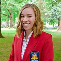 Avie Evans-Hood - High School Senior, Grants Pass High SchoolOregon Vice President of Development, Skills USA