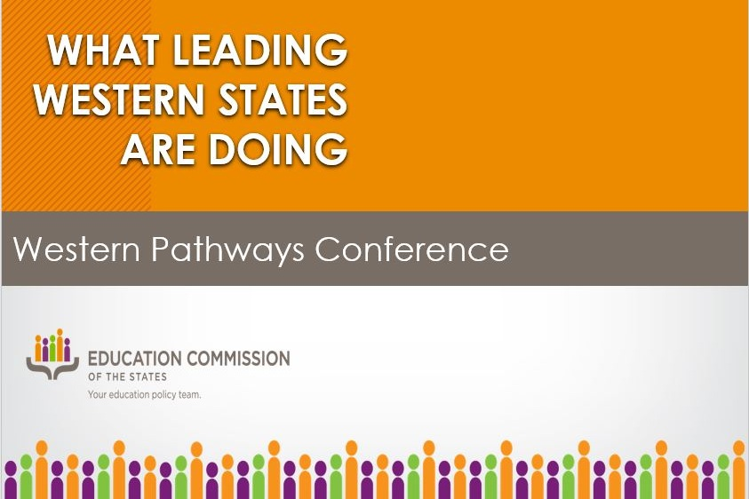 Click to view The Education Commission of the States' presentation that was presented before a panel that contained perspectives from Idaho, Colorado, and Nevada.