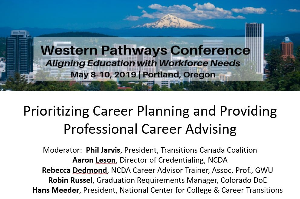 "Click to view the breakout session entitled ""Prioritizing Career Planning and Providing Professional Career Advising"". Contains a write-up of the session, as well as a general presentation containing info on all participants."