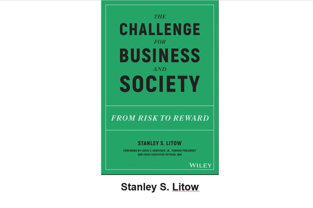 Click to view Stanley Litow's presentation on the role of business in society. Litow is Preisdent Emeritus of the IBM Foundation and highlighted the promise and history of corporate social responsibility.