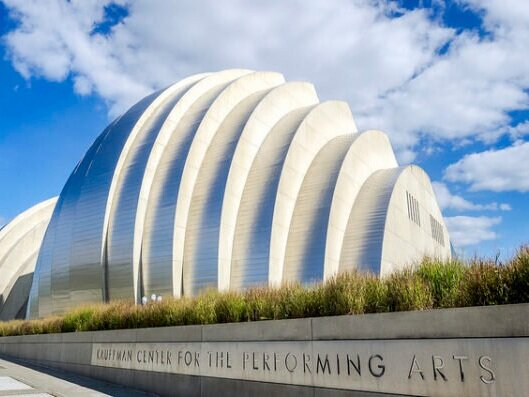 Kauffman Center - Performing Arts - The Kauffman Center for the Performing Arts serves as a cultural cornerstone for Kansas City and the region, delivering diverse performing arts experiences such as Kansas City Ballet, Lyric Opera, Kansas City Symphony, and other innovative programming.