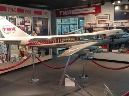 TWA Museum - The TWA Museum provides information to the public emphasizing the story, history and importance of the major role TWA played in pioneering commercial aviation. From the birth of airmail to the inception of passenger air travel, to the post-WWII era of global route expansion, TWA led the way for 75 years.