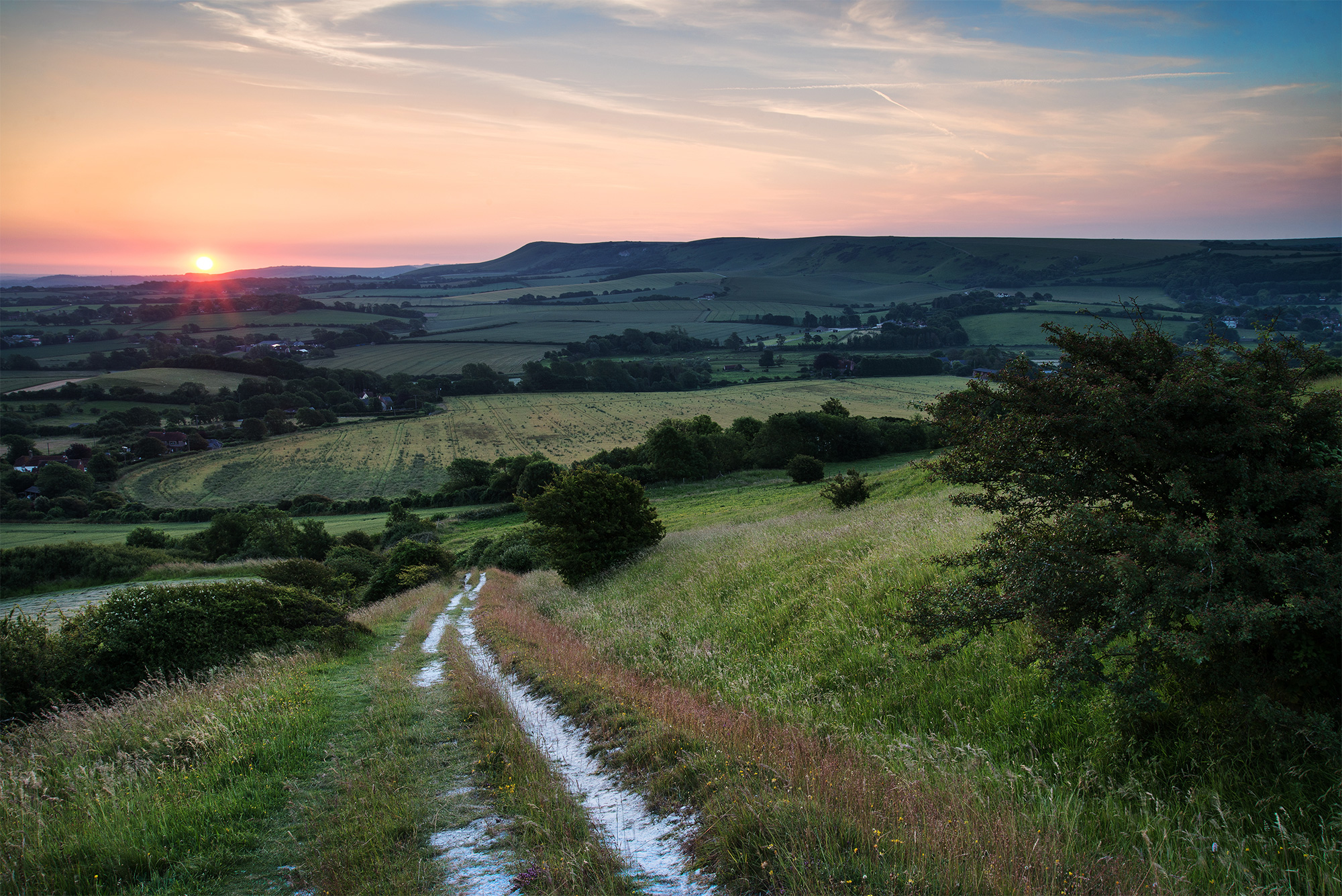 South Downs, Sussex