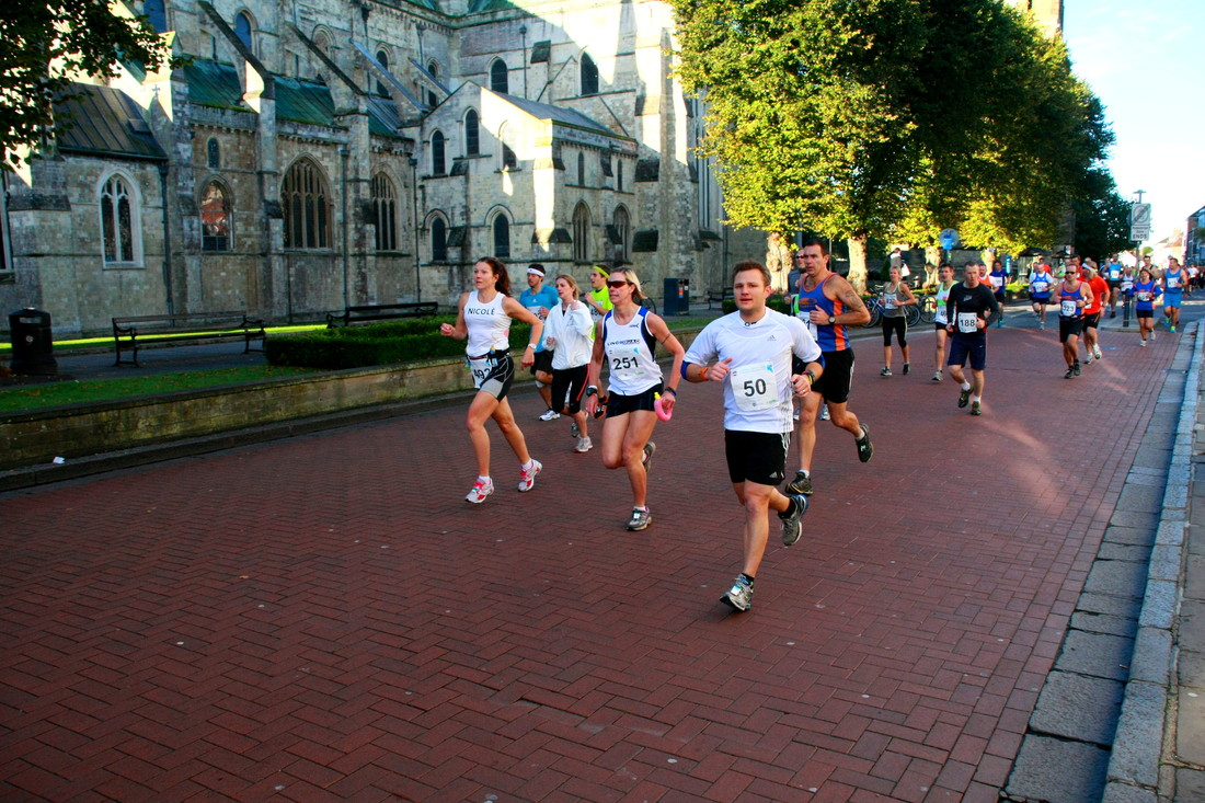 Supporting The Children on the Edge Chichester Half Marathon 8th October