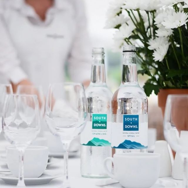 How good does South Downs Water look on this table setting! If you would like to have our premium South Downs Natural Mineral Water as your water brand give us a call today on 01243 376156 #southdownswater #bottledwater #stillwater #sparklingwater #naturalmineralwater #naturalgoodness #softdrink