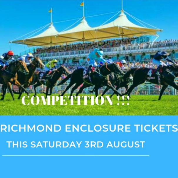 Check out our Facebook page for our competition to win 2 x Richmond Enclosure tickets for Qatar Goodwood Festival this Saturday! #competition #officialpartner #officialsponsor #water #goodwood #qatar #horseracing