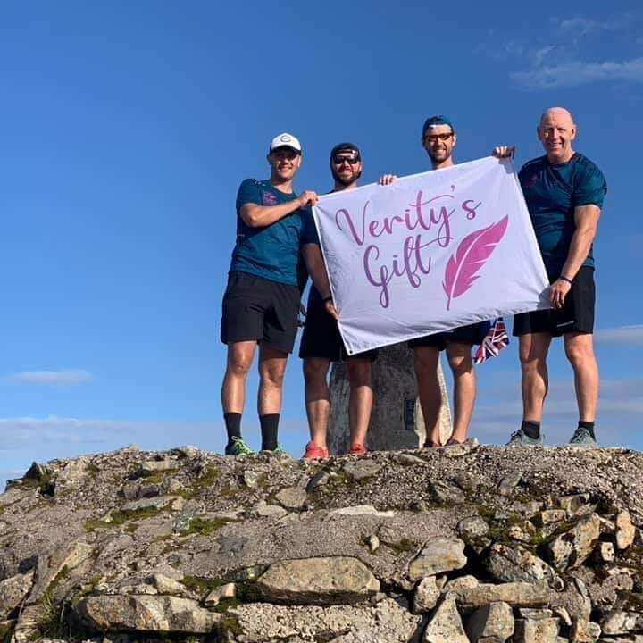 We supported the Verity's Gift team who took on the Three Peaks Challenge the hard way - cycling between each peak!