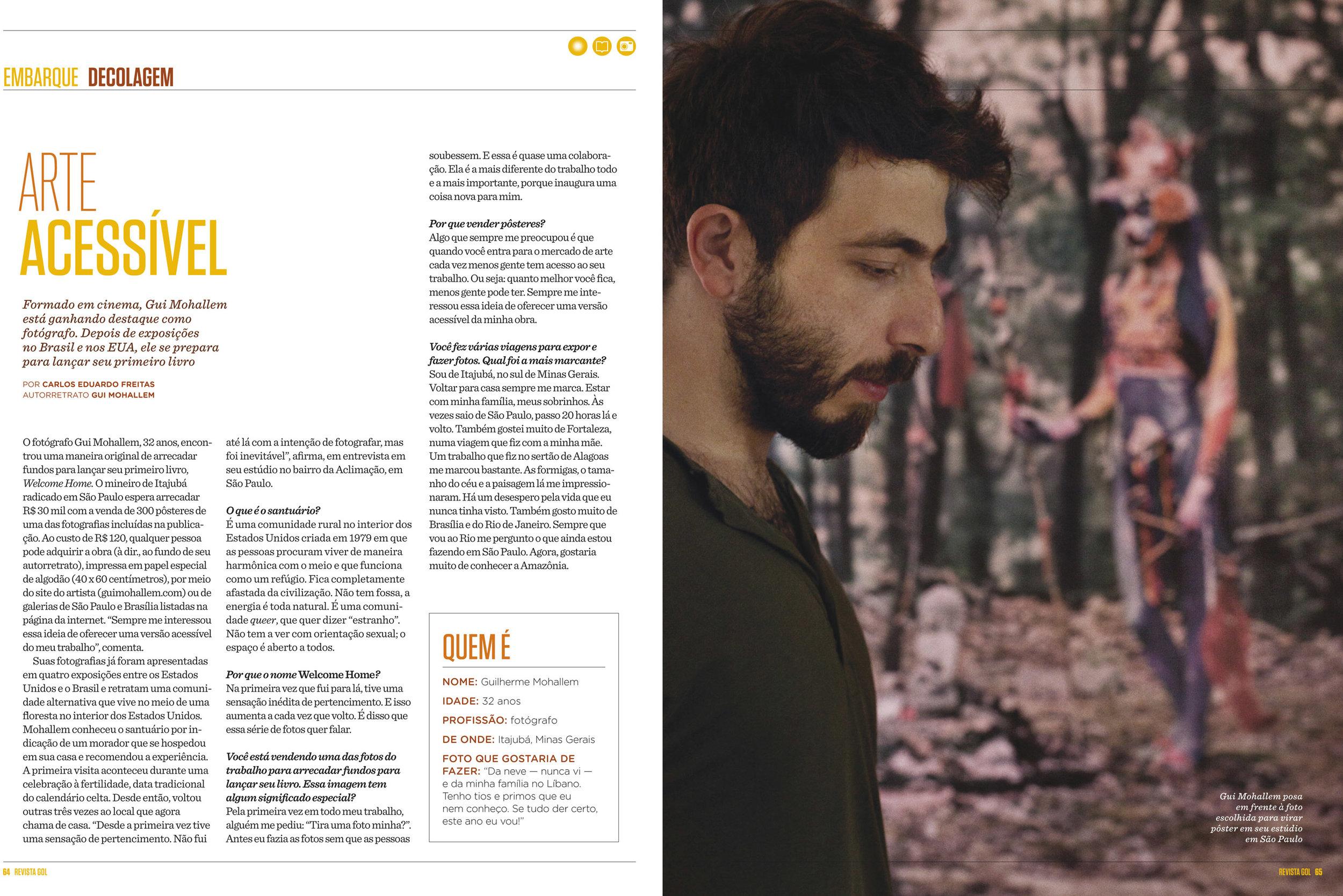 Revista Gol   Janeiro de 2012