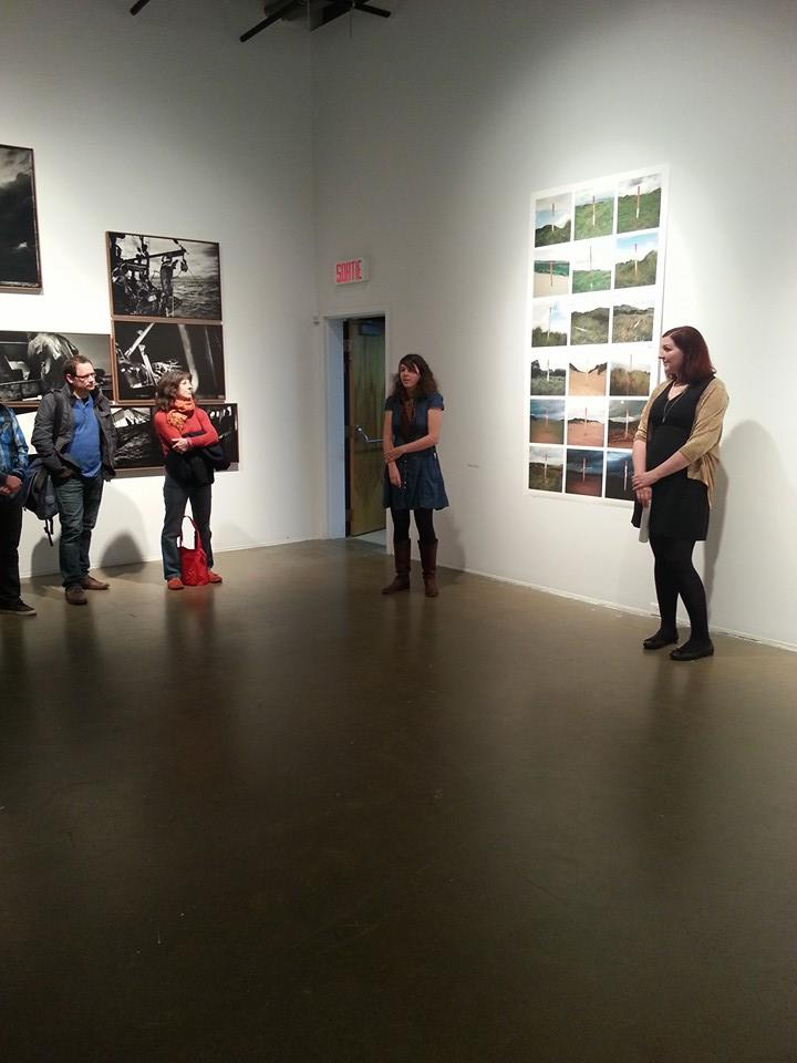 Exhibition opening talk at VU Photo, Quebec for 'Industires' / 'Menie: TRUMPED'