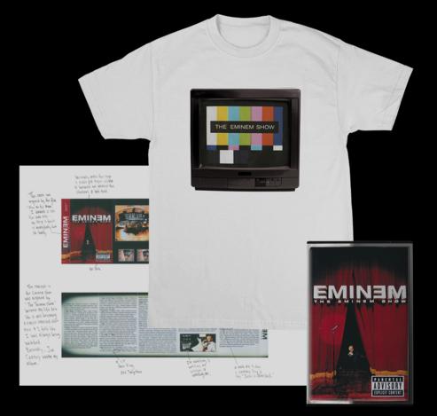 the eminem show merchandise