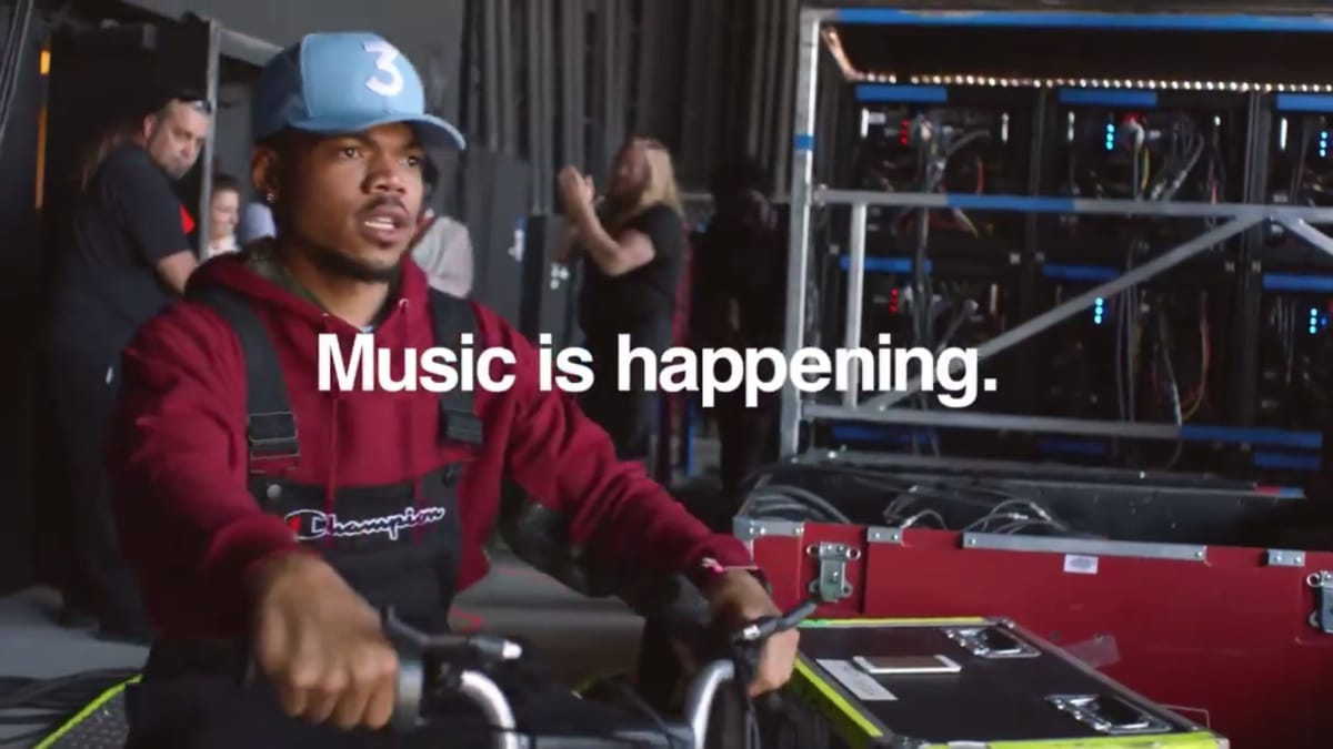 Chance The Rapper Twitter Commercial