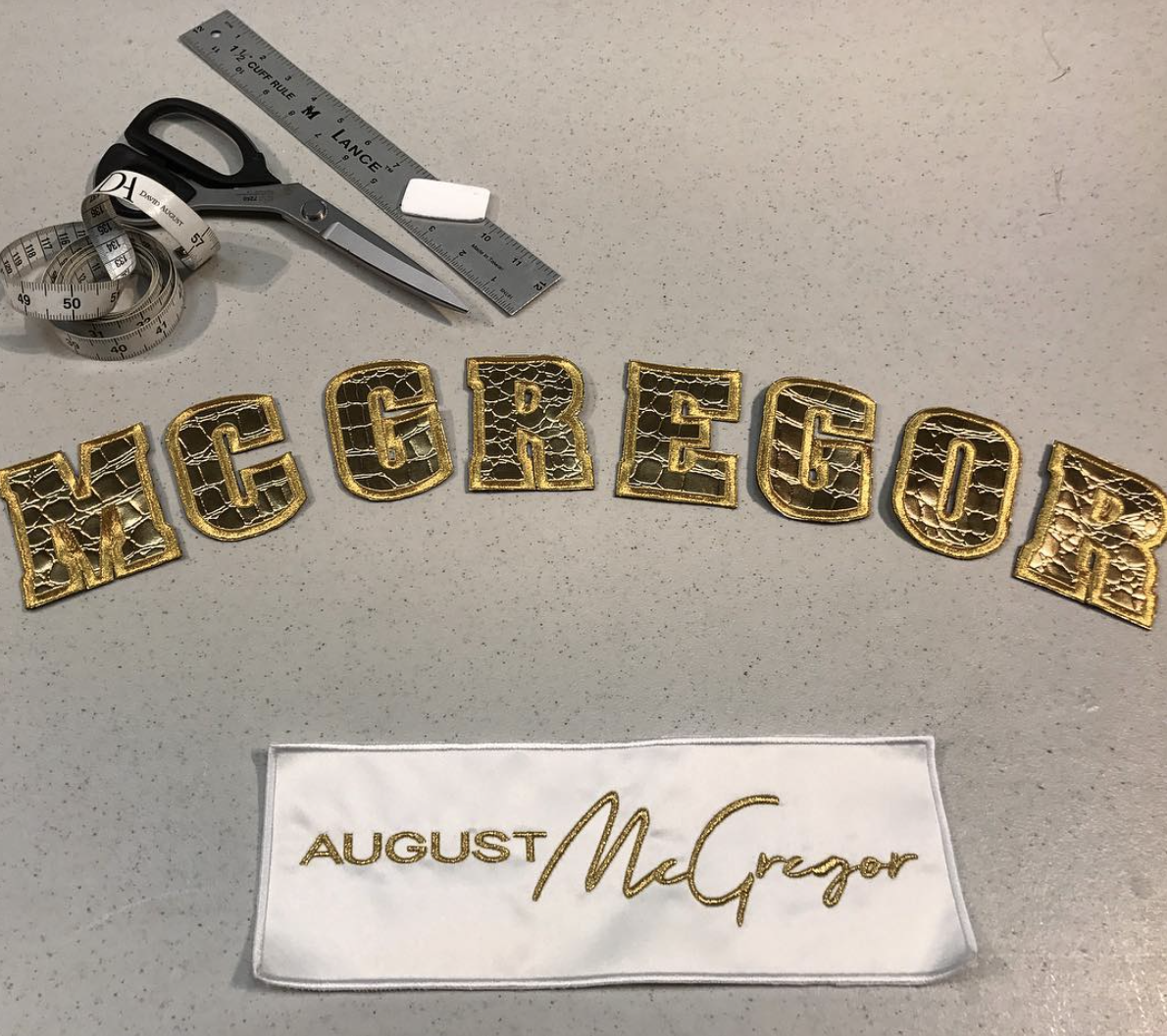 August McGregor Instagram