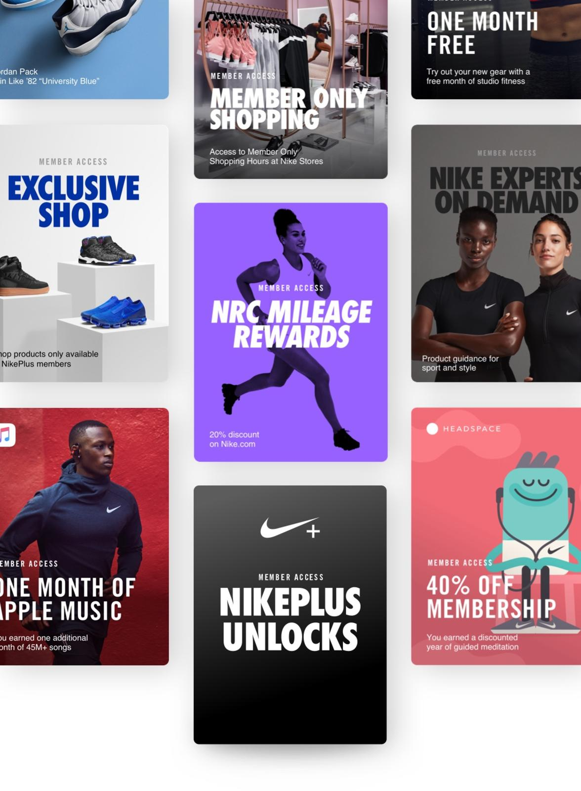 melodía Logro Comunismo  Nike rolls out a new set of benefits and perks for 'NikePlus' members —  Lindsey Gamble