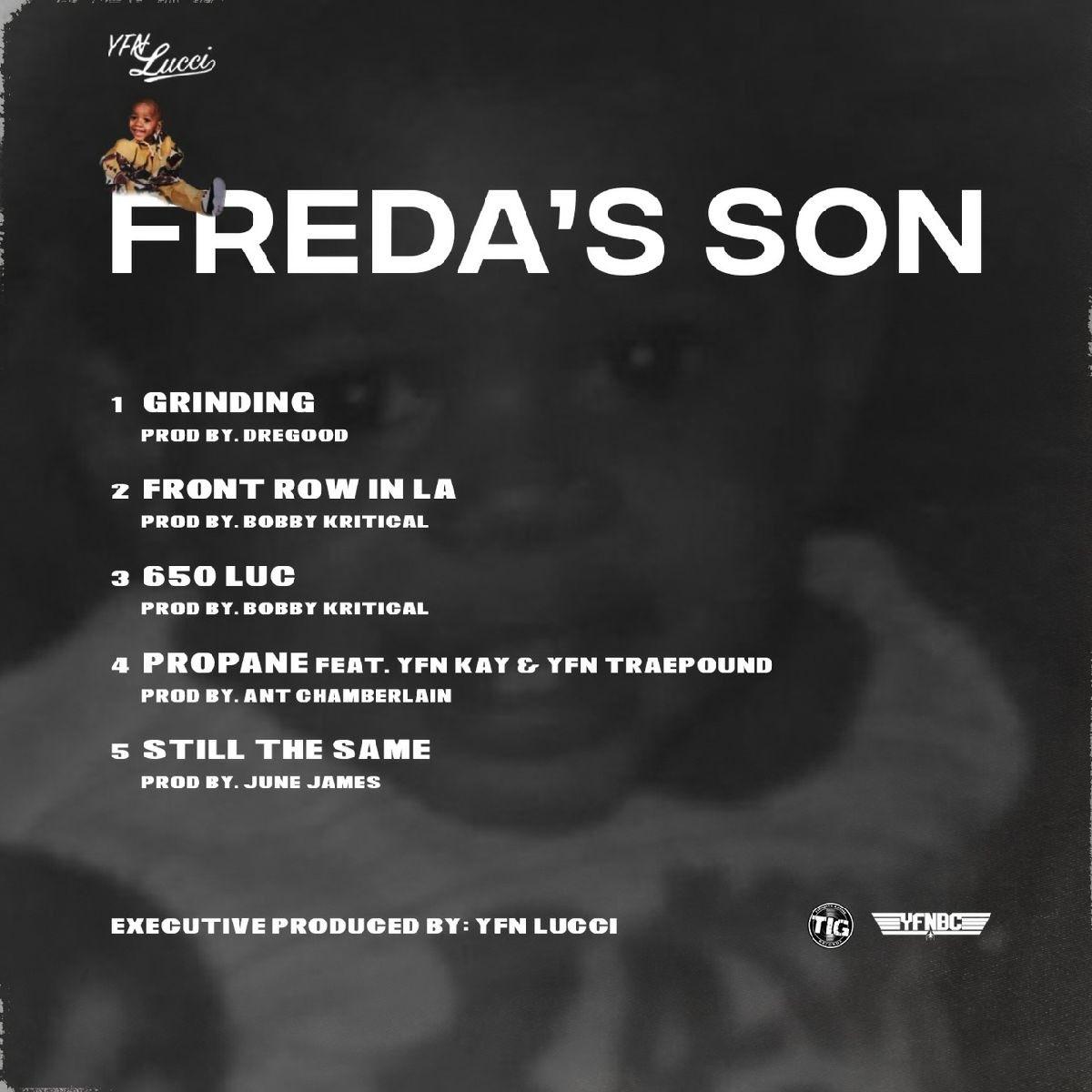 YFN Lucci 'Freda's Son' EP