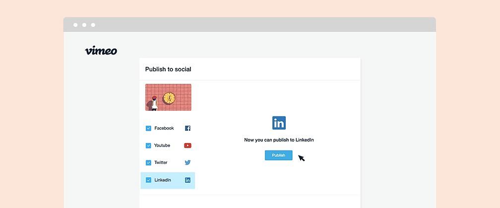 Vimeo LinkedIn