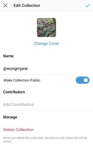 Instagram 'Public Collections' Pinterest