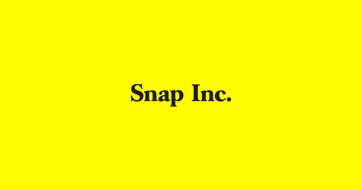Photo: Snap Inc.