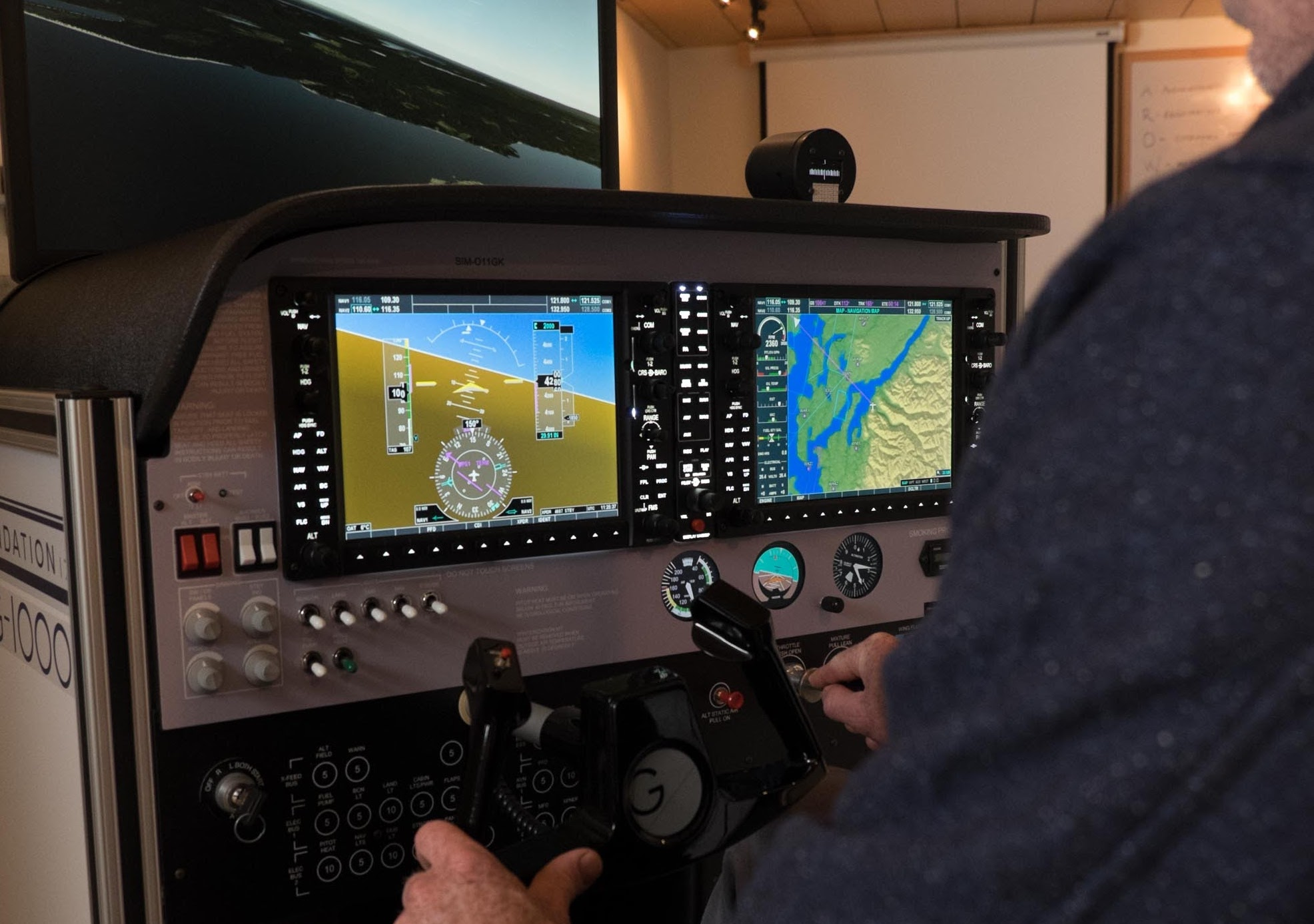 The one-G Portal - The one-G Portal™ includes an array of helpful tools to streamline the administrative aspects of pilot training including logging instructor and student training hours, training related documents and resources, record keeping, account maintenance and billing. All of which are available through the secure online one-G Portal™.