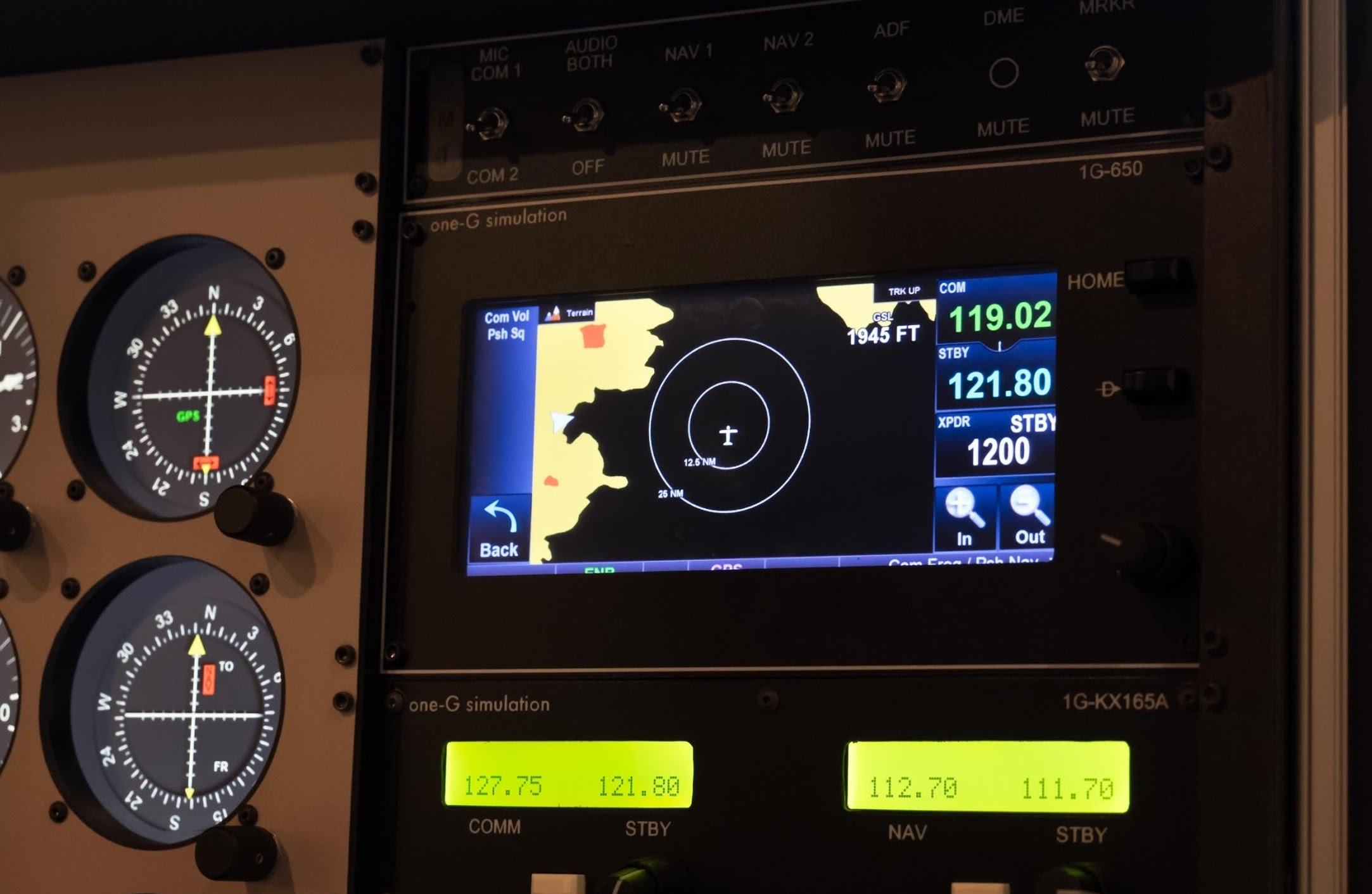 Navigation - 1G-650Faithful emulator of the Garmin GTN 650.Learn More ‣1G-430Faithful emulator of the popular Garmin 4301G-750Faithful emulator of the Garmin GTN 750.