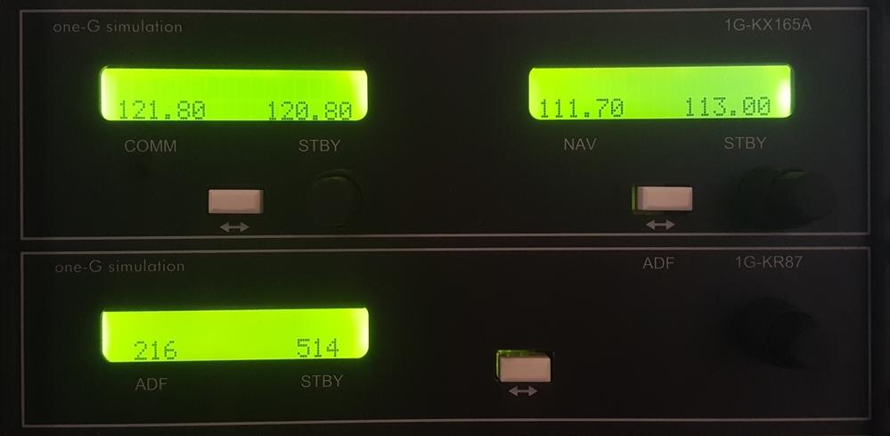 Radios - 1G-KX 165 NAV/COMM1G-KR 87 ADF module