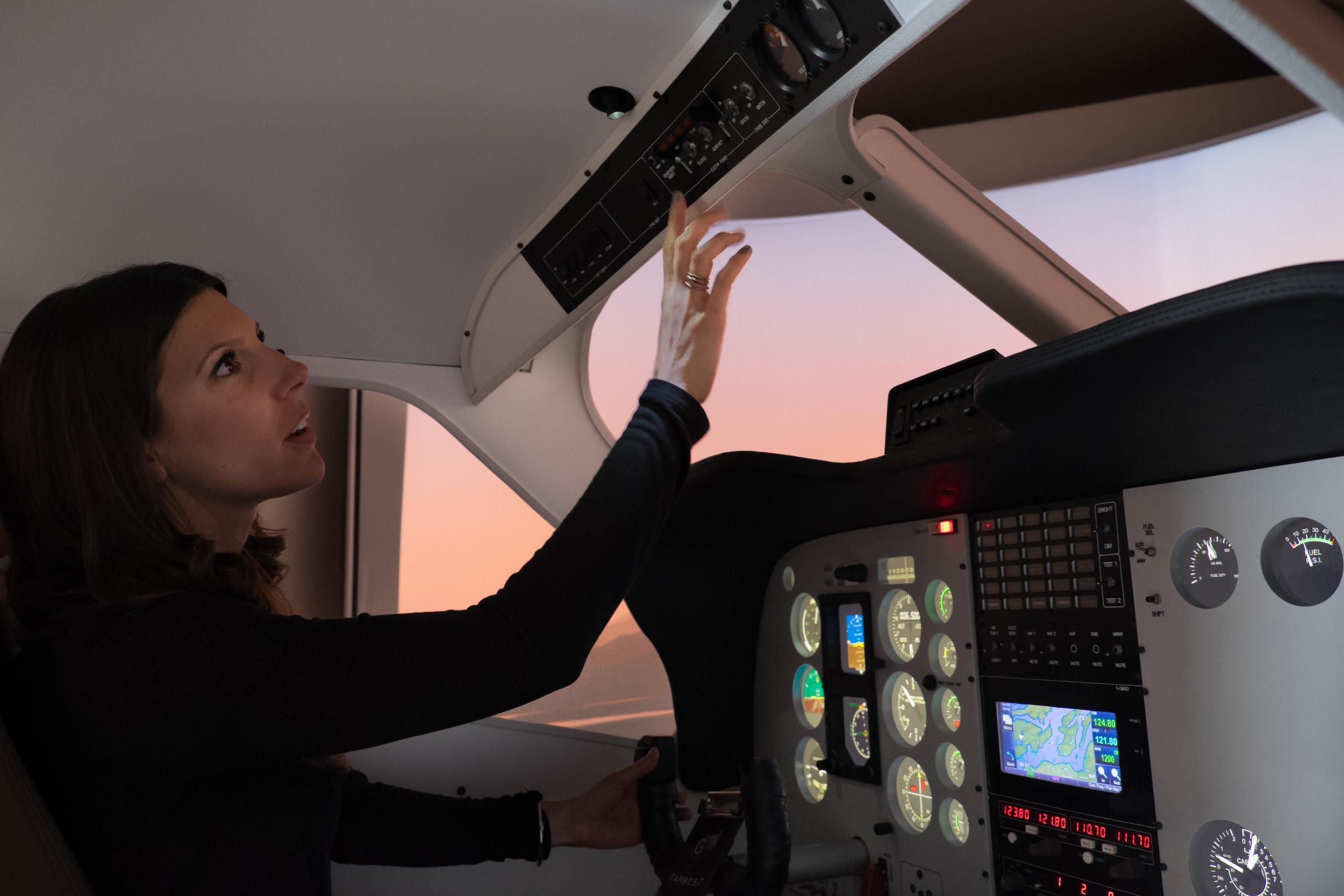 one-G Flagship Beechcraft simulator