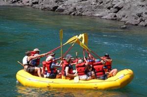 rafting fun