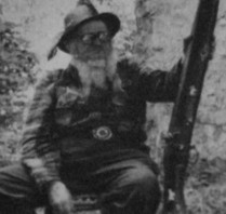 "Sylvan Hart - aka Buckskin Bill (1906-1980) 5 mile Bar, Salmon River , ID ""LAST OF THE MOUNTAIN MEN"""