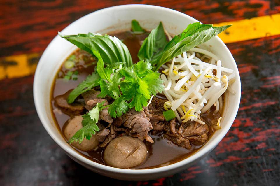 Image showing Thai cuisine menu