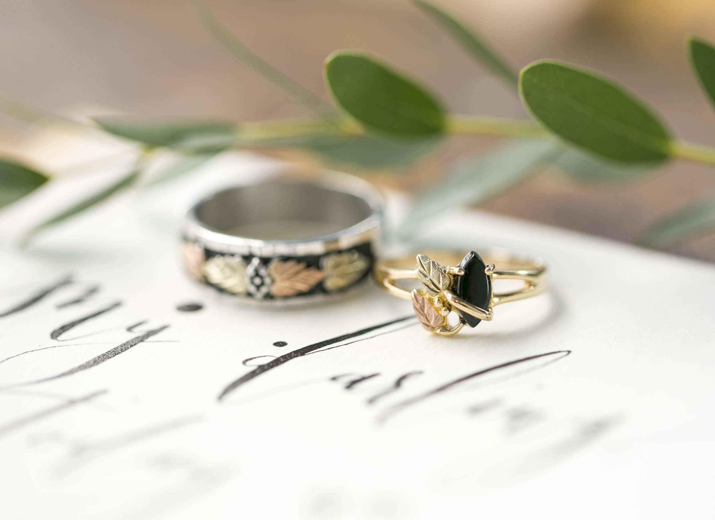 Black Hills Gold wedding rings