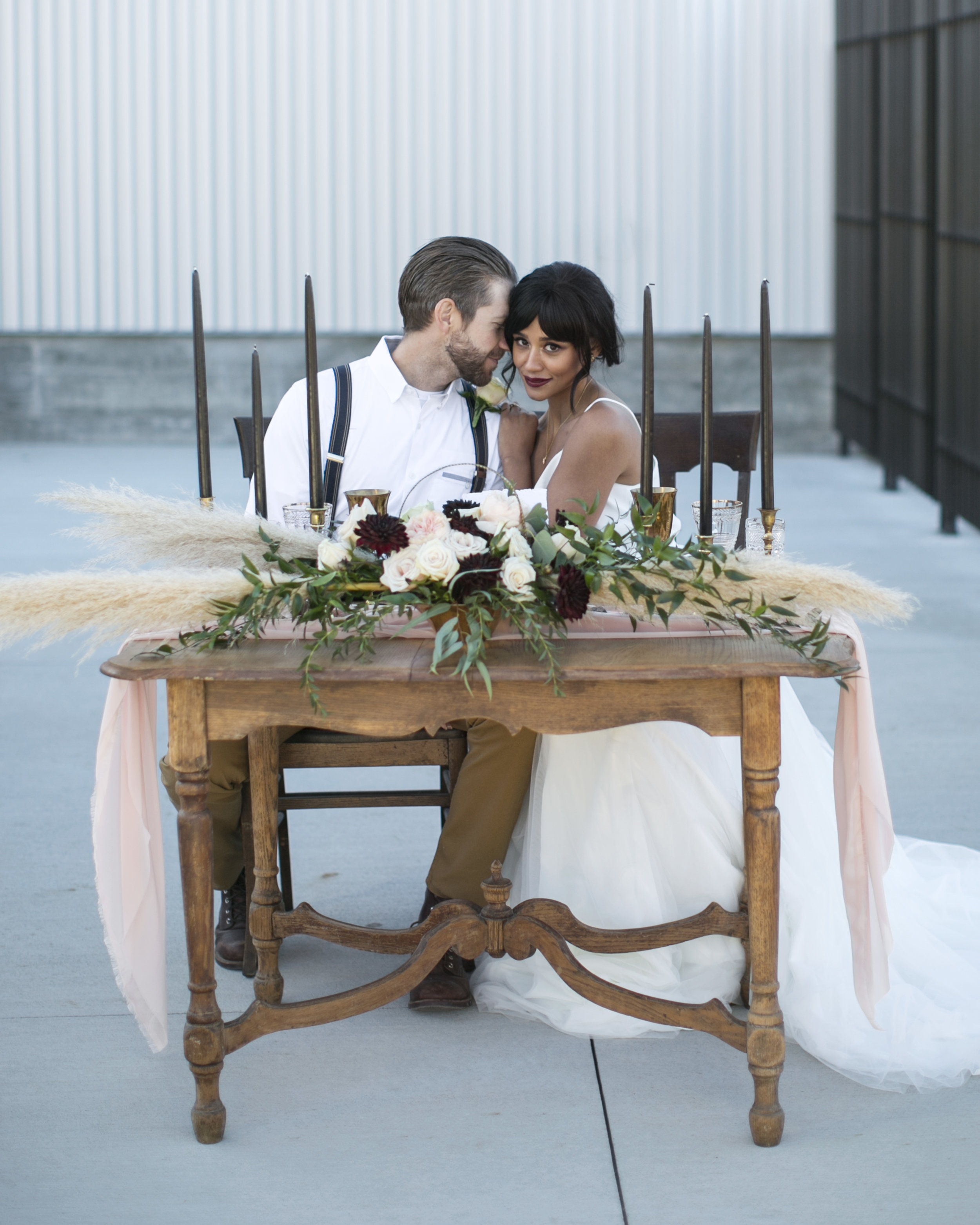 Black Hills wedding styled shoot
