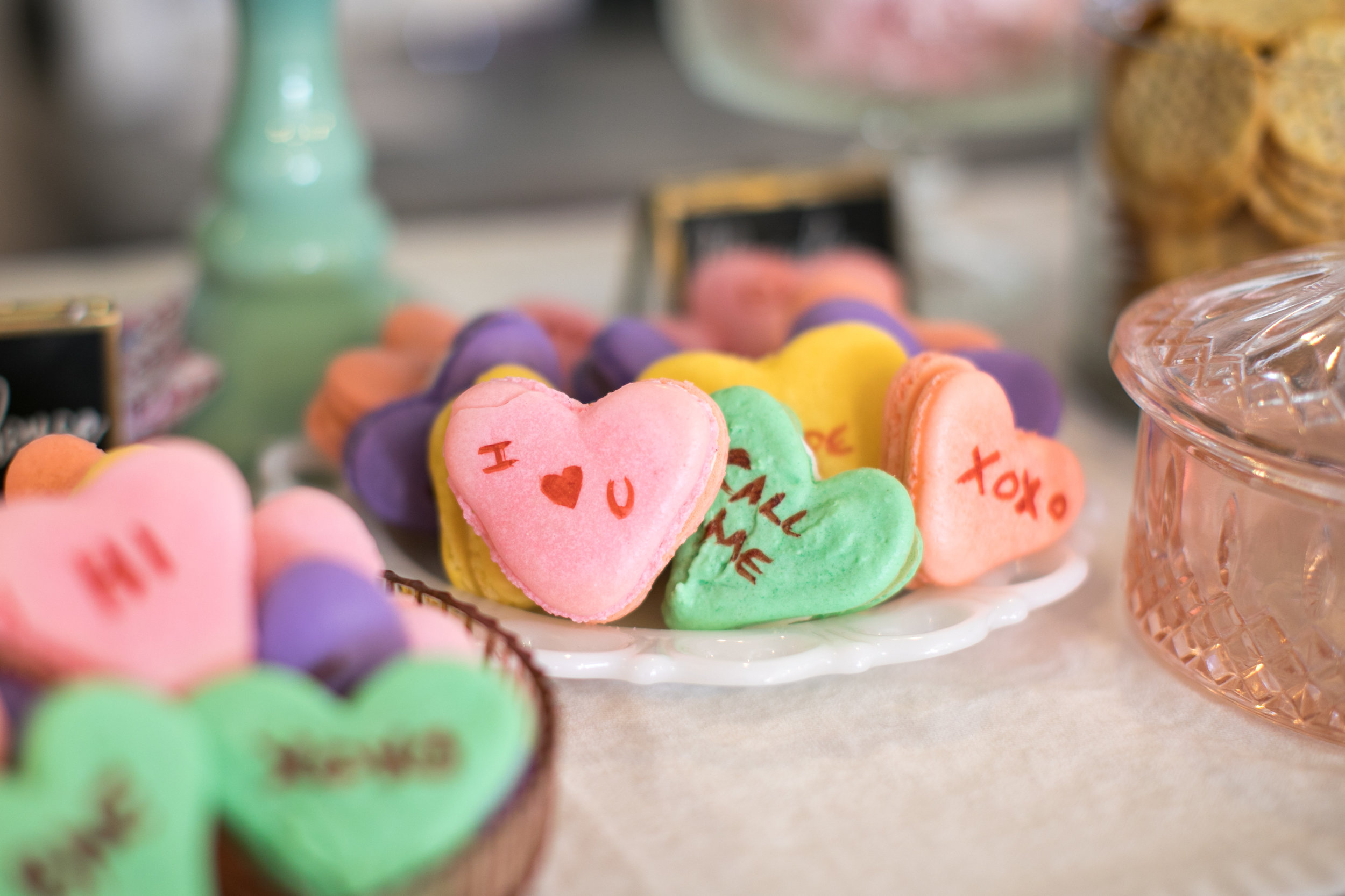 message macaroons