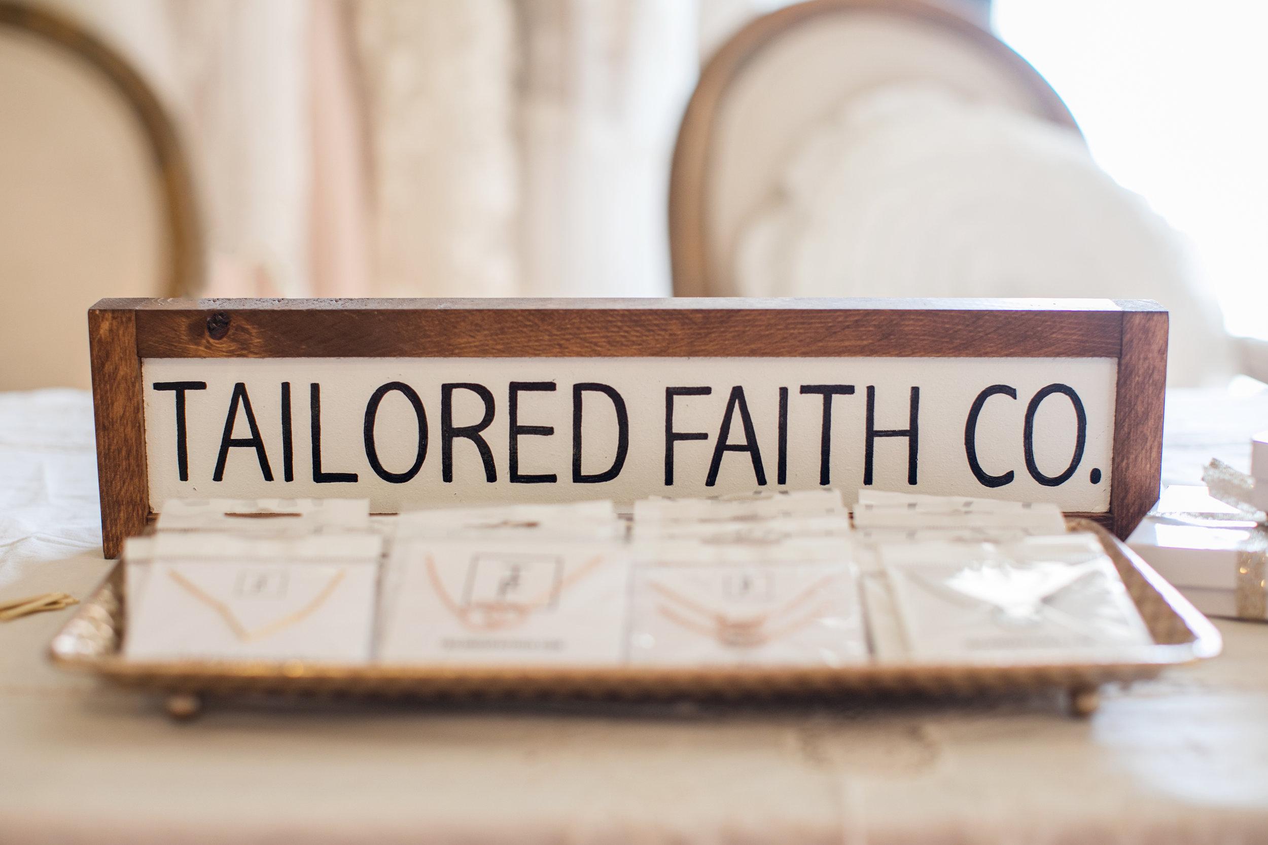 tailored faith co. jewelry