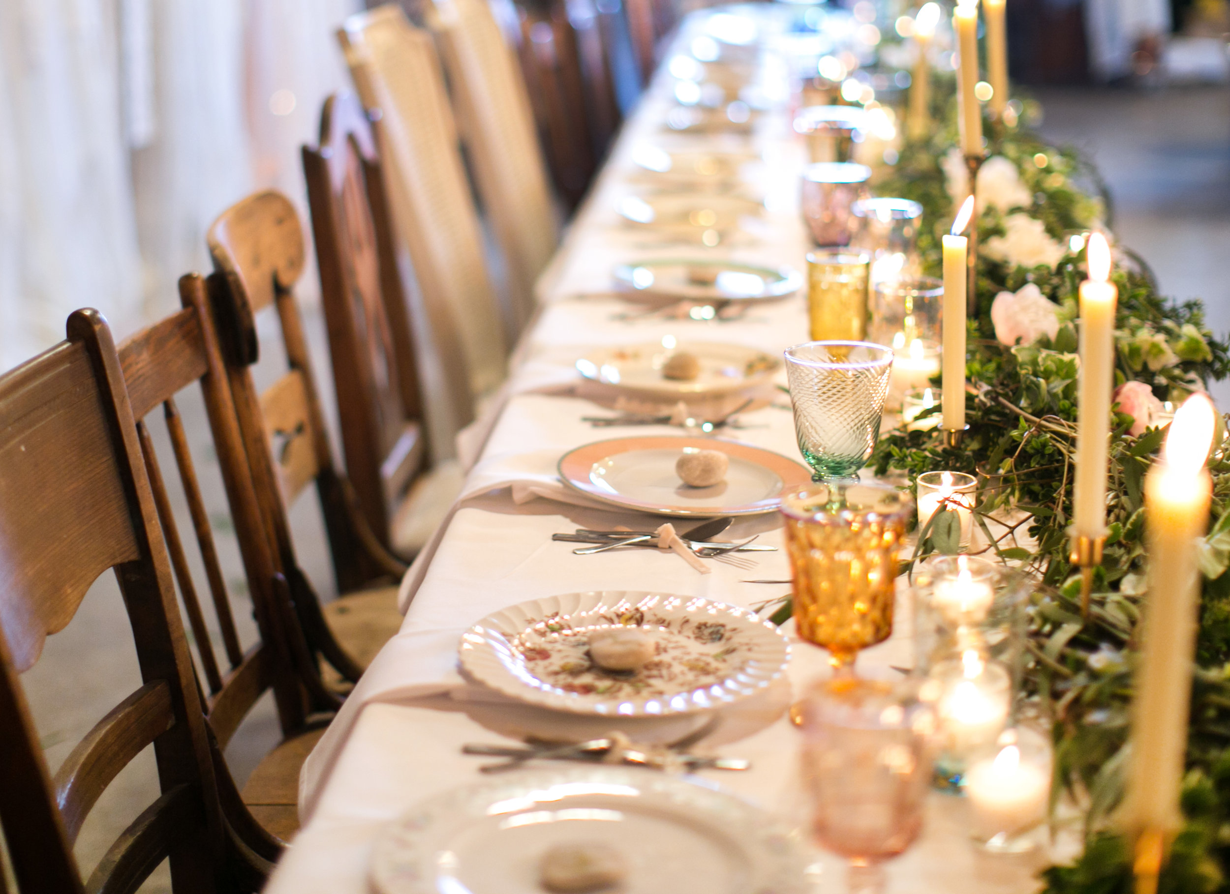 Photo by  Cadey Reisner Weddings , Styling by The Vintage Lease