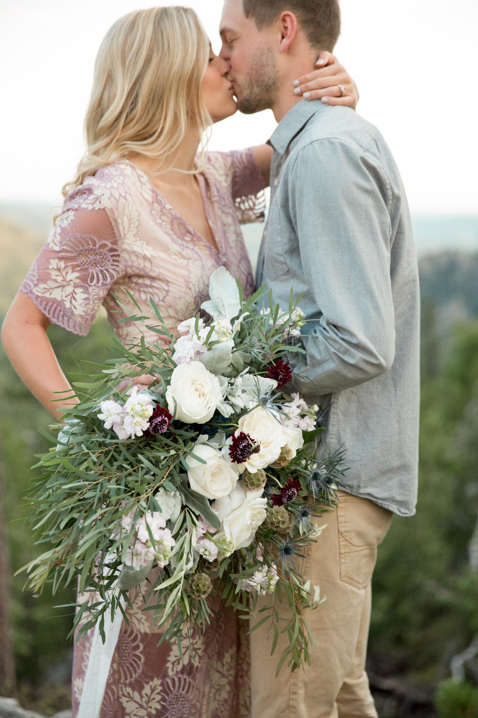 Black Hills elopement by The Vintage Lease