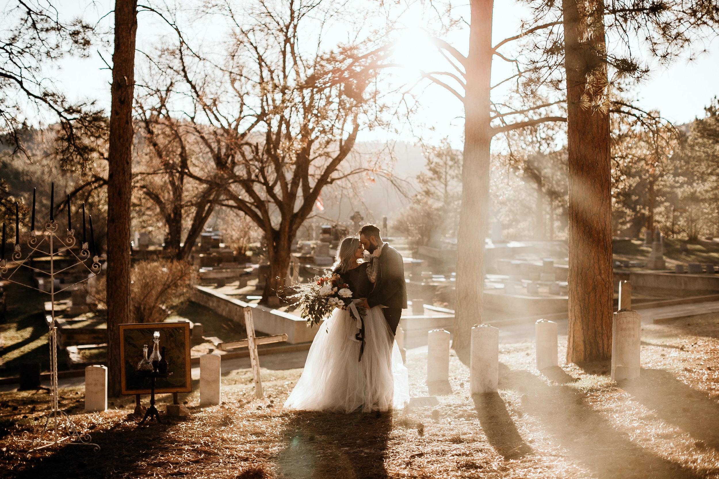 cemetery elopement