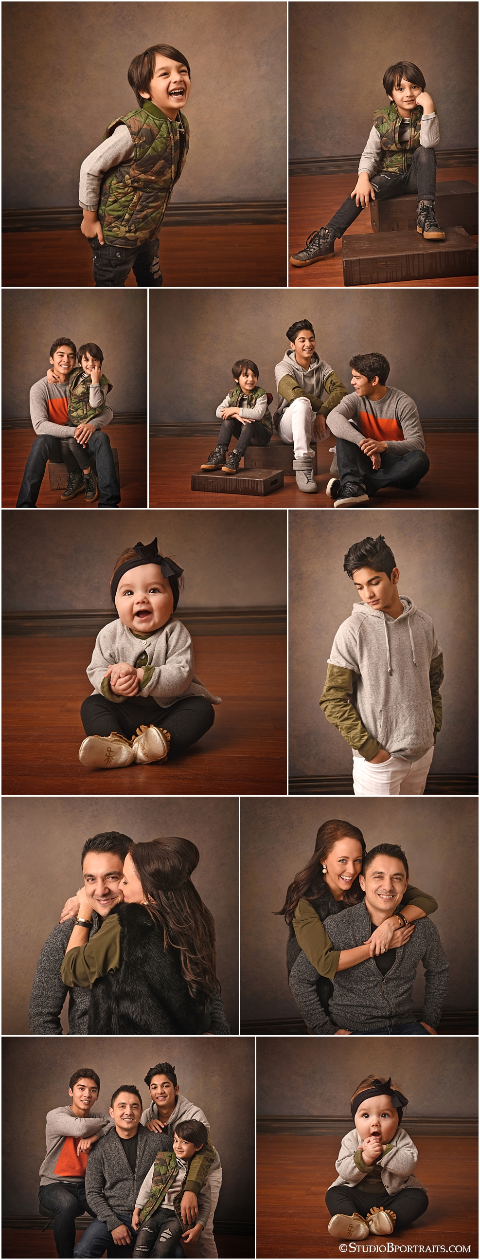Issaquah portrait studio family picures of cutest family ever!