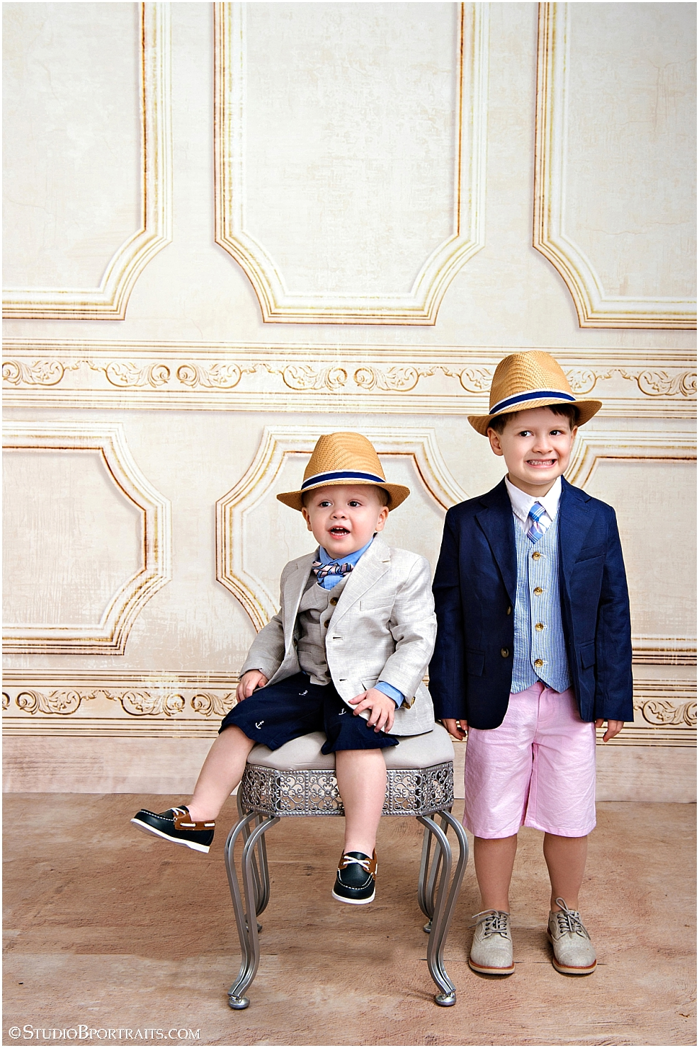 Cute brothers wearing Spring outfit from Janie and Jack_0019.jpg