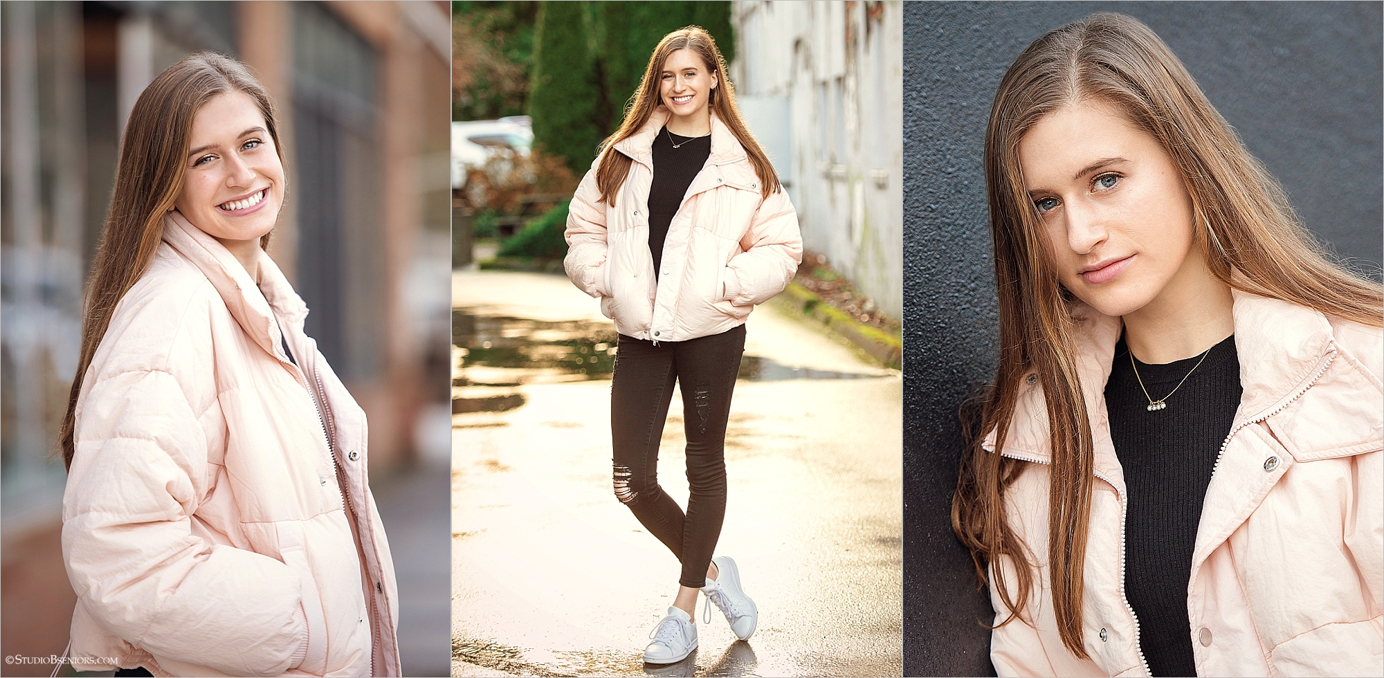 Street style for senior pictures in black and pink.jpg