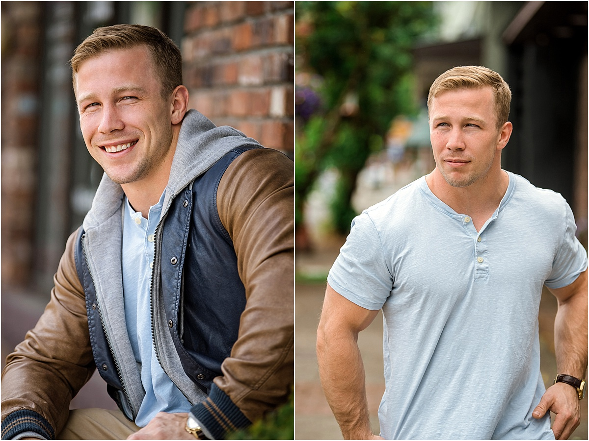 """Photo Credit: Studio B Portraits  A casual """"best version of you"""" is a great option for Facebook profiles, online dating and of course  Instagram !"""