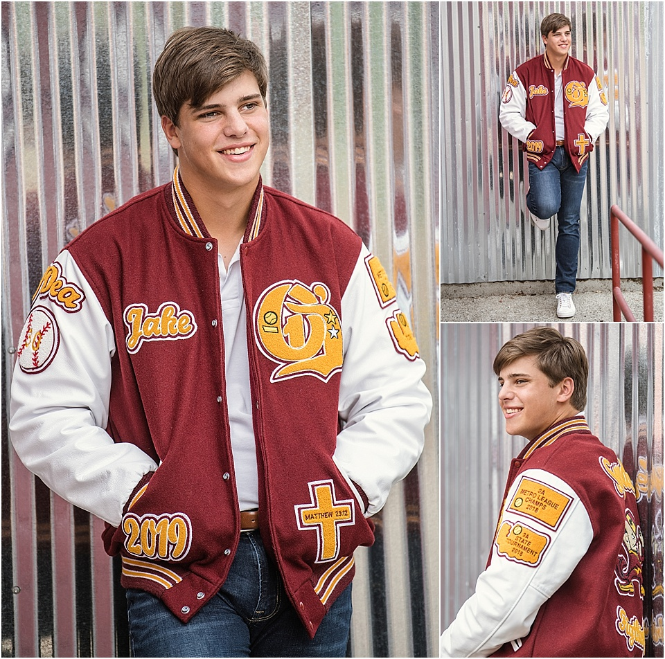 Studio B Seniors_senior boy with letterman jacket issaquah.jpg