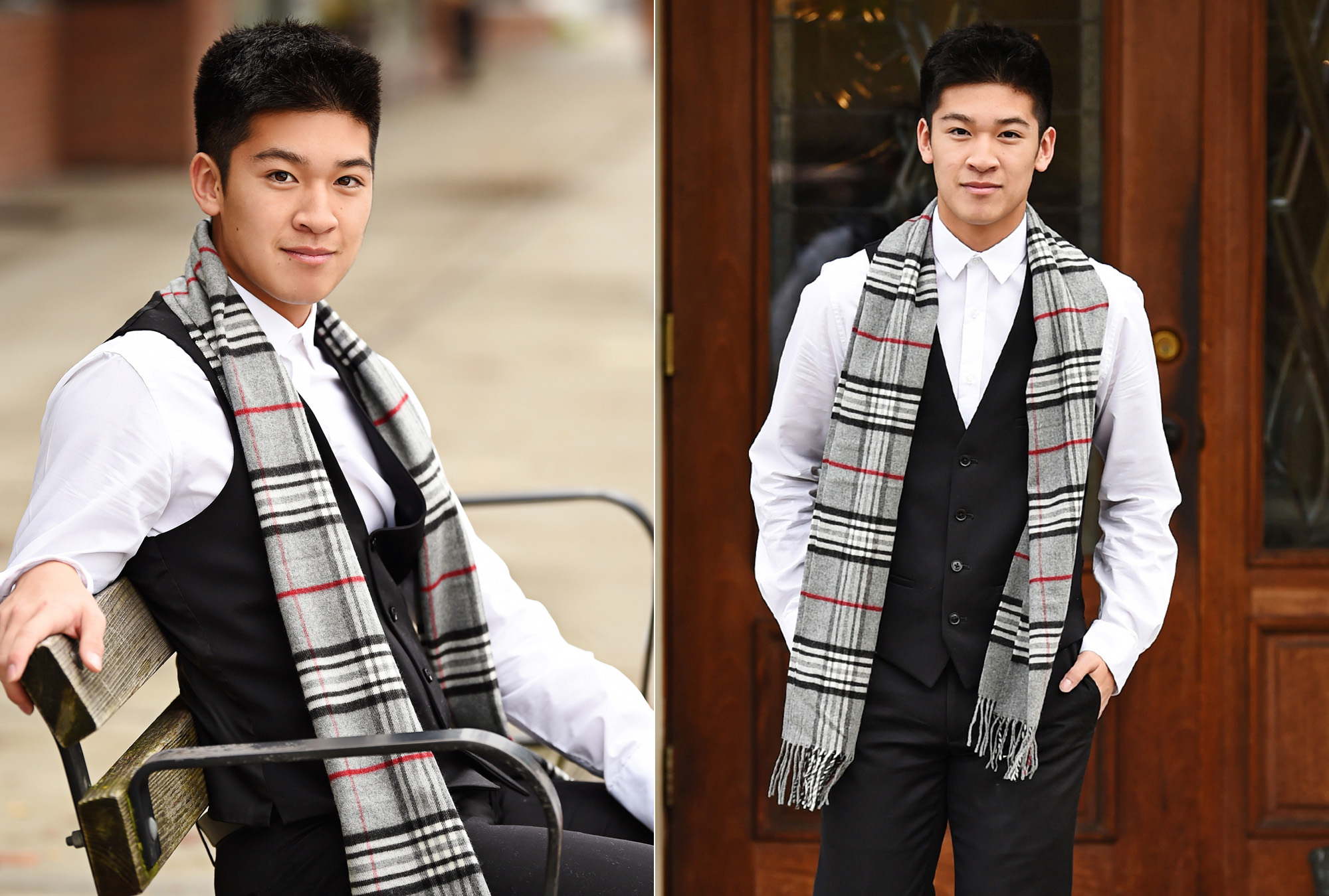 Cool Senior Pictures of Asian Amercian boy in scarf_Studio B Portraits_Jib.jpg