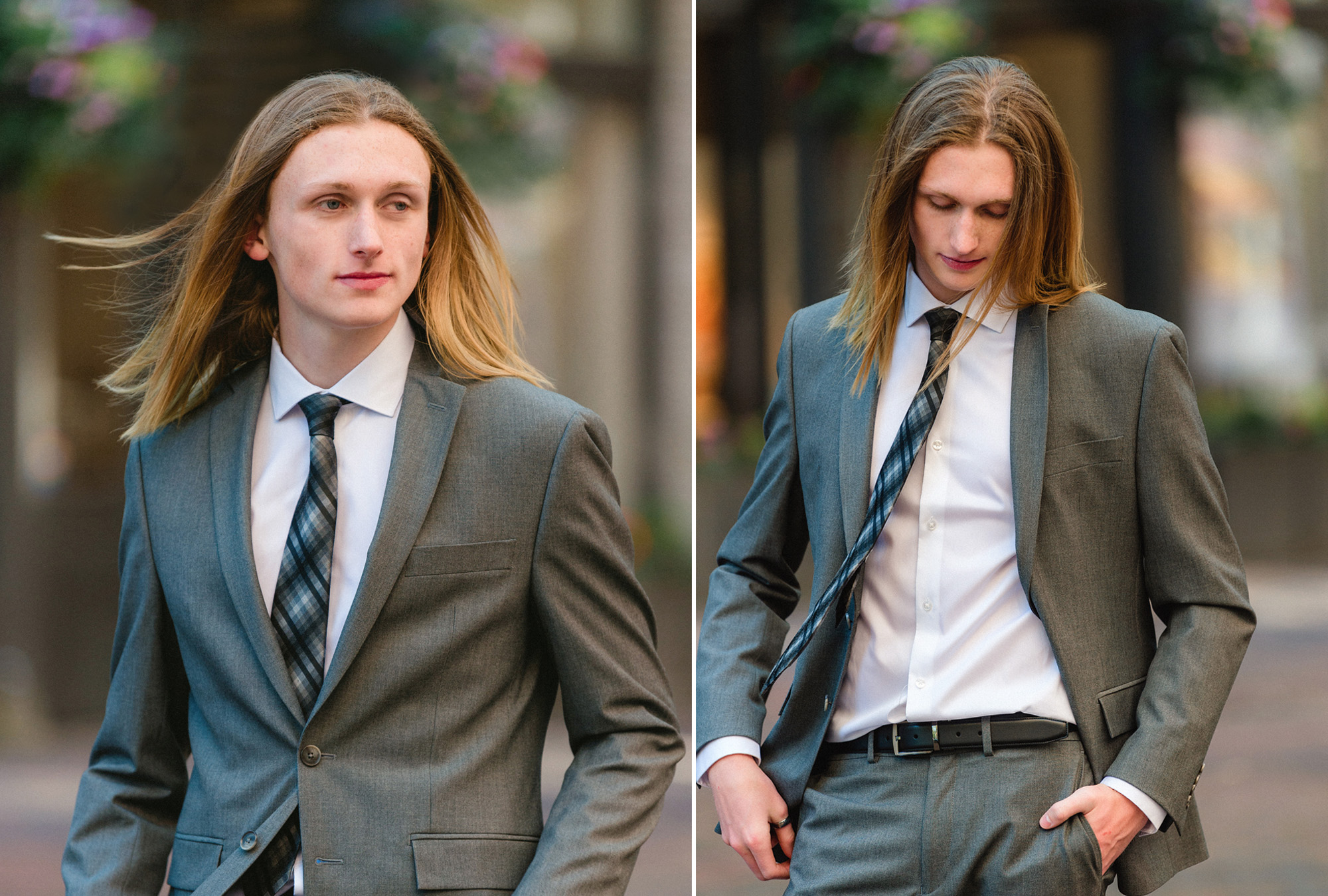 Studio B Portraits_Senior boy with long hair in suit and tie.jpg